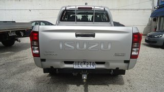 2015 Isuzu D-MAX MY15 SX Crew Cab 4x2 High Ride Silver 5 Speed Sports Automatic Utility