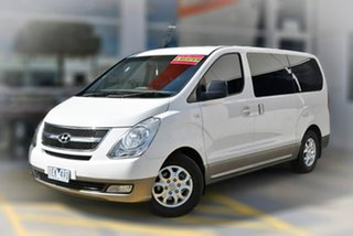 2010 Hyundai iMAX TQ-W Selectronic White 5 Speed Sports Automatic Wagon.