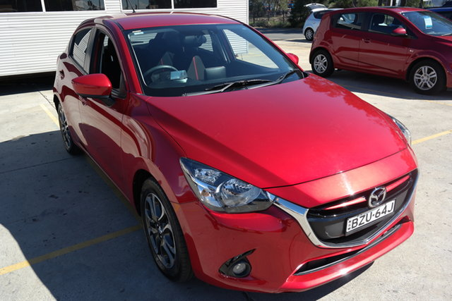 Used Mazda 2 DJ2HAA Genki SKYACTIV-Drive Maryville, 2015 Mazda 2 DJ2HAA Genki SKYACTIV-Drive Red 6 Speed Sports Automatic Hatchback