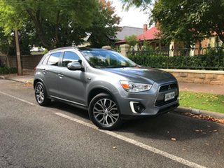 2016 Mitsubishi ASX XC MY17 XLS 2WD Silver 6 Speed Constant Variable Wagon.