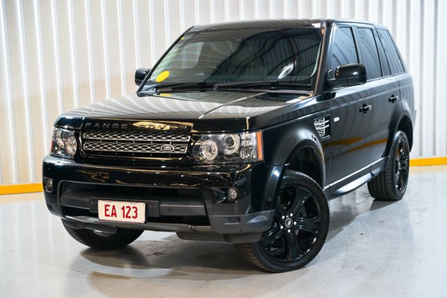 Used Land Rover Range Rover Sport L320 MY13.5 HSE Luxury Black Hendra, 2013 Land Rover Range Rover Sport L320 MY13.5 HSE Luxury Black White 6 Speed Sports Automatic Wagon