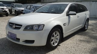 2009 Holden Commodore VE MY09.5 Omega Sportwagon White 4 Speed Automatic Wagon