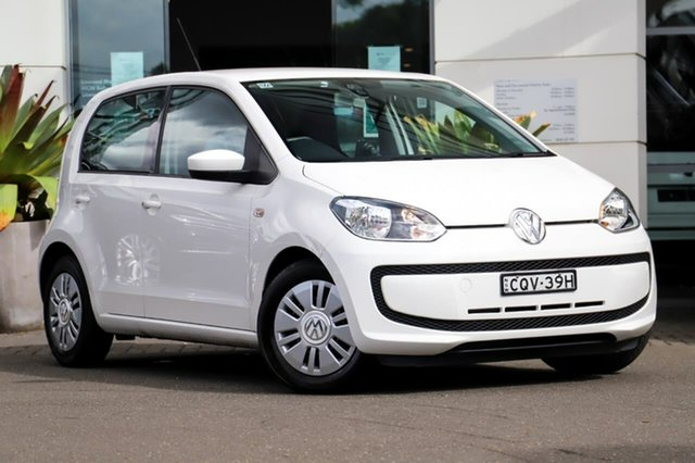 Used Volkswagen UP! Type AA MY13 Sutherland, 2013 Volkswagen UP! Type AA MY13 White 5 Speed Manual Hatchback