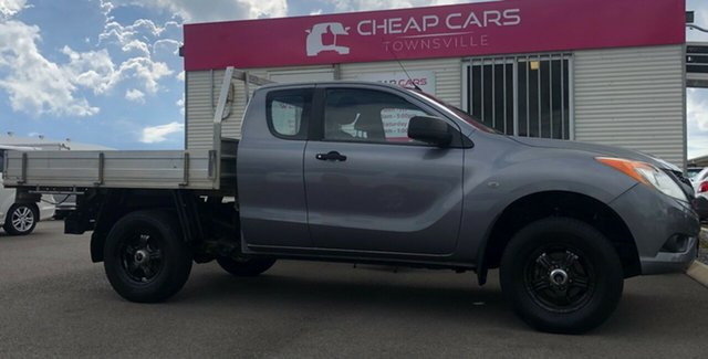 Used Mazda BT-50 UP0YF1 XT Freestyle Garbutt, 2012 Mazda BT-50 UP0YF1 XT Freestyle Grey 6 Speed Manual Cab Chassis