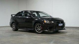 2014 Mitsubishi Lancer CJ MY15 Evolution TC-SST MR Black 6 Speed Sports Automatic Dual Clutch Sedan.