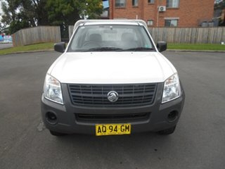2007 Holden Rodeo RA MY07 LX White 4 Speed Automatic Cab Chassis