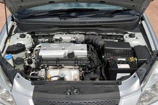 2009 Kia Rio JB LX Silver 5 Speed Manual Hatchback