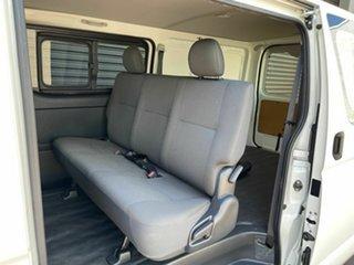 2018 Toyota HiAce KDH201R Crewvan LWB White 4 Speed Automatic Van Wagon