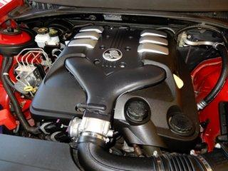 2005 Holden Commodore VZ SV6 Red 6 Speed Manual Sedan