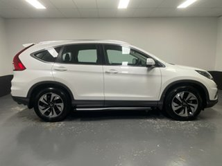 2016 Honda CR-V RM Series II MY17 Limited Edition 4WD White Pearl 5 Speed Sports Automatic Wagon