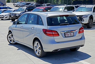 2015 Mercedes-Benz B-Class W246 B200 DCT Silver 7 Speed Sports Automatic Dual Clutch Hatchback.