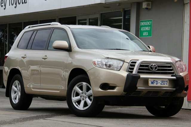 Pre-Owned Toyota Kluger Glen Waverley, Kluger AWD KX-R 3.5L PETROL Automatic Wagon