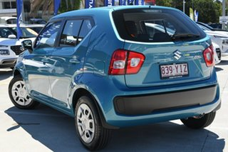 2018 Suzuki Ignis MF GL Teal 1 Speed Hatchback.