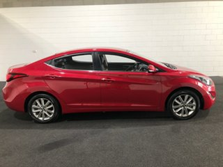 2015 Hyundai Elantra MD3 SE Red 6 Speed Sports Automatic Sedan.
