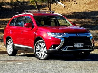 2019 Mitsubishi Outlander ZL MY20 ES AWD ADAS Red Diamond 6 Speed Constant Variable Wagon.