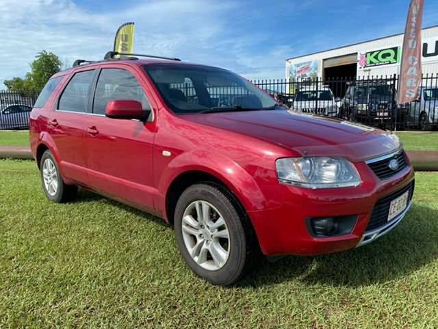 Used Ford Territory SY MkII TS RWD Berrimah, 2010 Ford Territory SY MkII TS RWD Red 4 Speed Sports Automatic Wagon