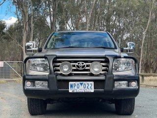 2008 Toyota Landcruiser VDJ200R Sahara Gold 6 Speed Sports Automatic Wagon.