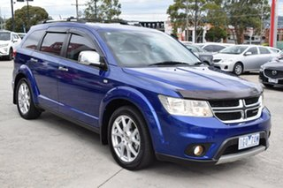 2012 Dodge Journey JC MY12 R/T Blue 6 Speed Automatic Wagon.
