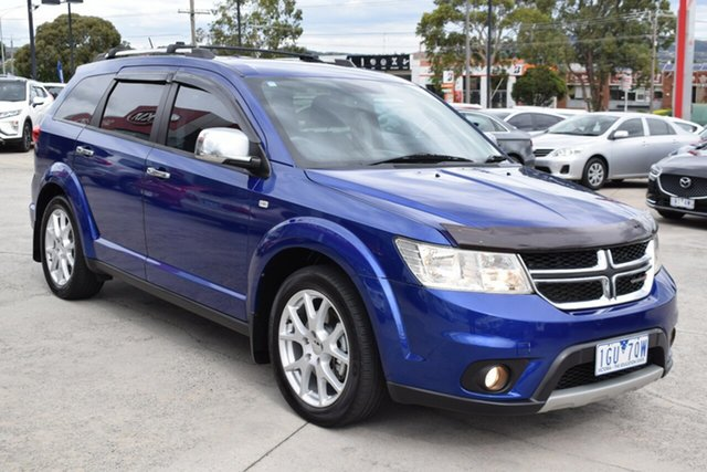 Used Dodge Journey JC MY12 R/T Ferntree Gully, 2012 Dodge Journey JC MY12 R/T Blue 6 Speed Automatic Wagon
