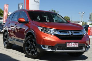 2017 Honda CR-V RW MY18 VTi-S FWD Wildfire 1 Speed Constant Variable Wagon.