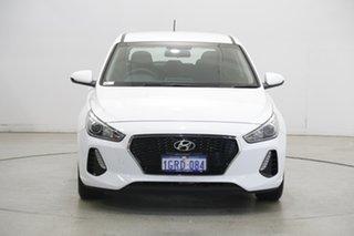 2018 Hyundai i30 PD MY18 Go Polar White 6 Speed Sports Automatic Hatchback.
