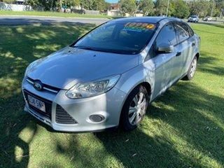 2012 Ford Focus LW Ambiente PwrShift Silver 6 Speed Sports Automatic Dual Clutch Sedan.