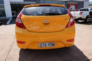 2018 Hyundai Accent RB6 MY18 Sport Yellow 6 Speed Automatic Hatchback