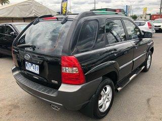 2006 Kia Sportage KM (4x4) Black 4 Speed Tiptronic Wagon