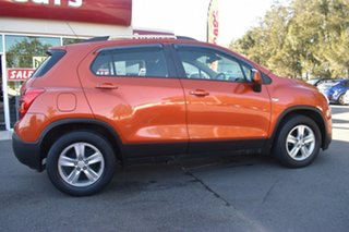 2015 Holden Trax TJ MY15 LS Orange 6 Speed Automatic Wagon.