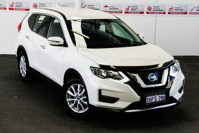 Pre-Owned Nissan X-Trail T32 Series 2 ST (2WD) Myaree, 2017 Nissan X-Trail T32 Series 2 ST (2WD) White Continuous Variable Wagon