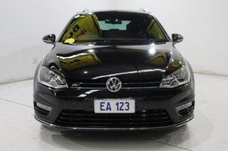 2015 Volkswagen Golf VII MY15 103TSI DSG Highline Black 7 Speed Sports Automatic Dual Clutch Wagon.