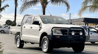 2012 Ford Ranger PX XL White 6 Speed Manual Cab Chassis.