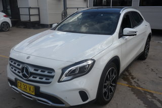 2017 Mercedes-Benz GLA-Class X156 807MY GLA220 d DCT White 7 Speed Sports Automatic Dual Clutch.