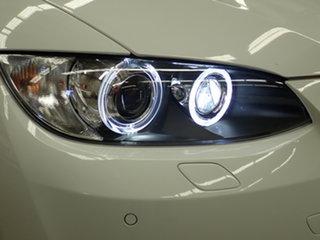 2008 BMW 335i E93 Alpine White 6 Speed Auto Steptronic Convertible