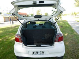 2000 Toyota Echo NCP10R White 5 Speed Manual Hatchback