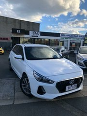 2017 Hyundai i30 PD Active White 6 Speed Manual Hatchback.