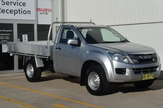 2012 Isuzu D-MAX MY12 SX Silver 5 Speed Manual Cab Chassis