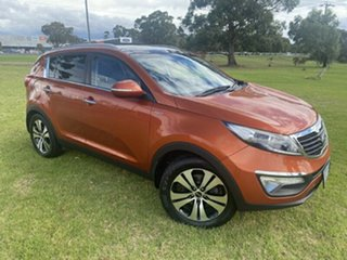 2012 Kia Sportage SL MY12 Platinum Orange 6 Speed Sports Automatic Wagon.