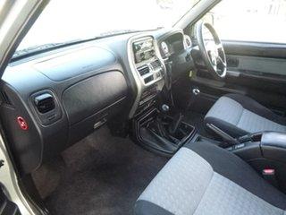 2010 Nissan Navara D22 ST-R Silver Manual Utility