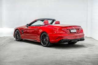 2018 Mercedes-Benz SL-Class R231 809MY SL63 AMG SPEEDSHIFT MCT Red 7 Speed Sports Automatic Roadster.