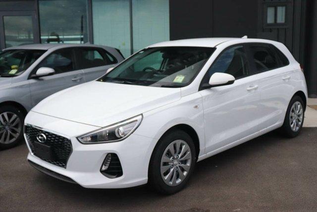 Used Hyundai i30 PD.3 MY20 Go Springwood, 2019 Hyundai i30 PD.3 MY20 Go Polar White 6 Speed Sports Automatic Hatchback