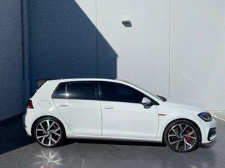 2018 Volkswagen Golf 7.5 MY19 GTI DSG White 7 Speed Sports Automatic Dual Clutch Hatchback.