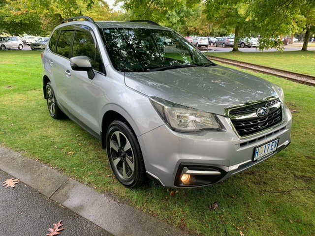 Used Subaru Forester S4 MY17 2.0D-L CVT AWD Launceston, 2017 Subaru Forester S4 MY17 2.0D-L CVT AWD Silver 7 Speed Constant Variable Wagon