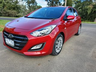 2017 Hyundai i30 GD4 Series II Active Red Sports Automatic Hatchback.