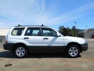 2006 Subaru Forester 79V MY06 X AWD White 5 Speed Manual Wagon