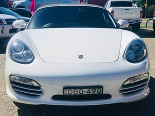 2010 Porsche Boxster 987 MY10 PDK White 7 Speed Sports Automatic Dual Clutch Convertible