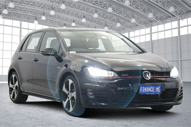 Used Volkswagen Golf VII MY16 GTI DSG Victoria Park, 2016 Volkswagen Golf VII MY16 GTI DSG Black 6 Speed Sports Automatic Dual Clutch Hatchback
