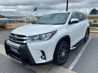 2018 Toyota Kluger GSU55R Grande AWD White 8 Speed Sports Automatic Wagon