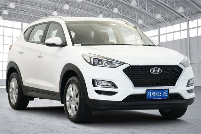 Used Hyundai Tucson TL4 MY20 Active X 2WD Victoria Park, 2019 Hyundai Tucson TL4 MY20 Active X 2WD Pure White 6 Speed Automatic Wagon