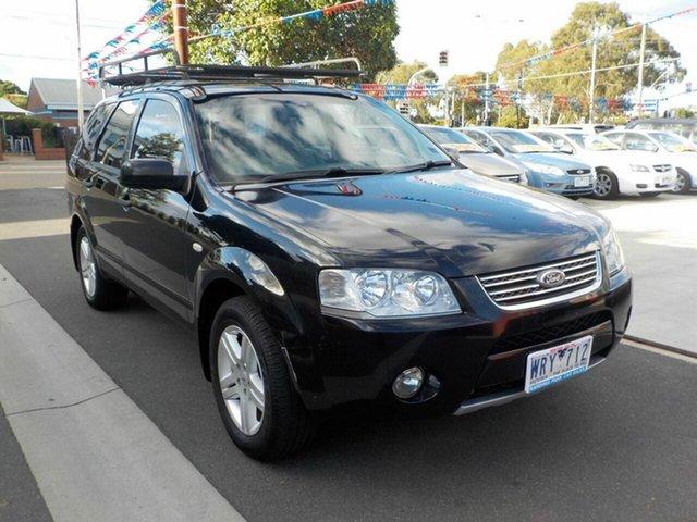 Used Ford Territory SY MY07 Upgrade Ghia (RWD) Newtown, 2008 Ford Territory SY MY07 Upgrade Ghia (RWD) Black 4 Speed Auto Seq Sportshift Wagon